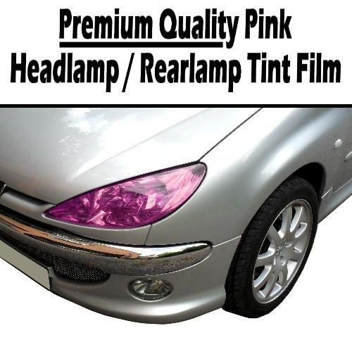 SLF-розовые, Tailight фар, противотуманке лампа тонировочная пленка
