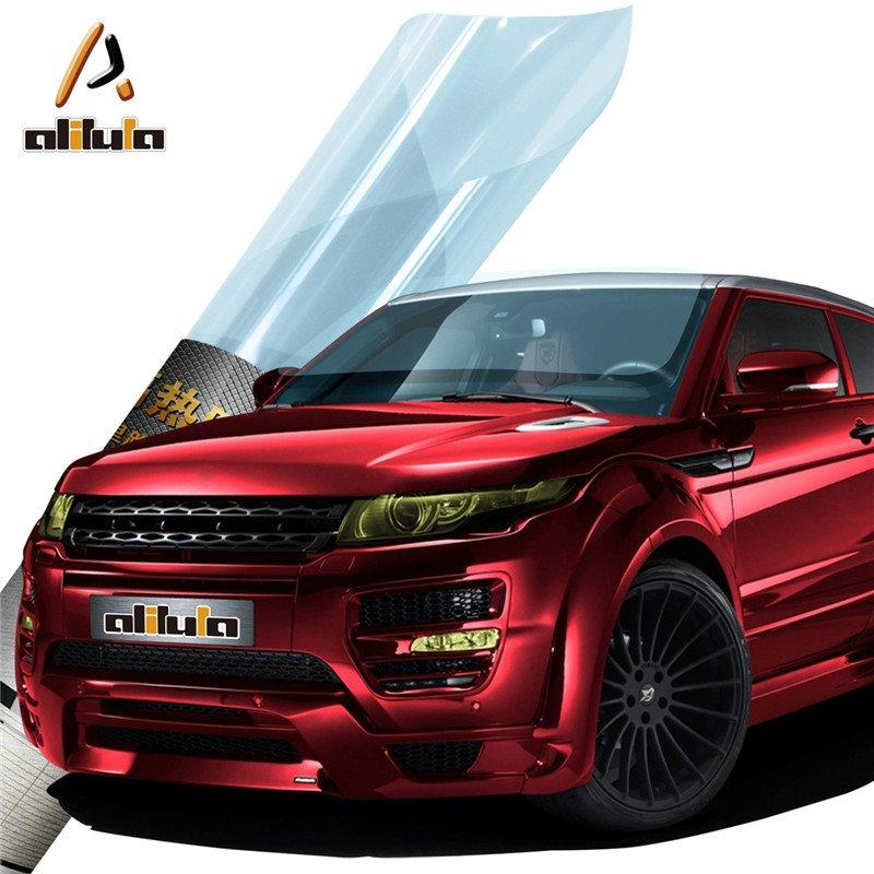 lanjingling, 1.52M*25M/30M/50M высокой жары Светоотражающий автомобиля окна солнечного тепла светоотражающая пленка