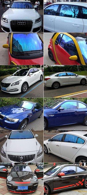 CM6099, Colorful Car Window Chameleon Tint Film
