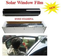 50cm*30m Super Dark Black 5% Window Tint Film,V-BK05