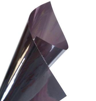 50cm*3m roll size DIY black car window solar tint film with scrap and knife
