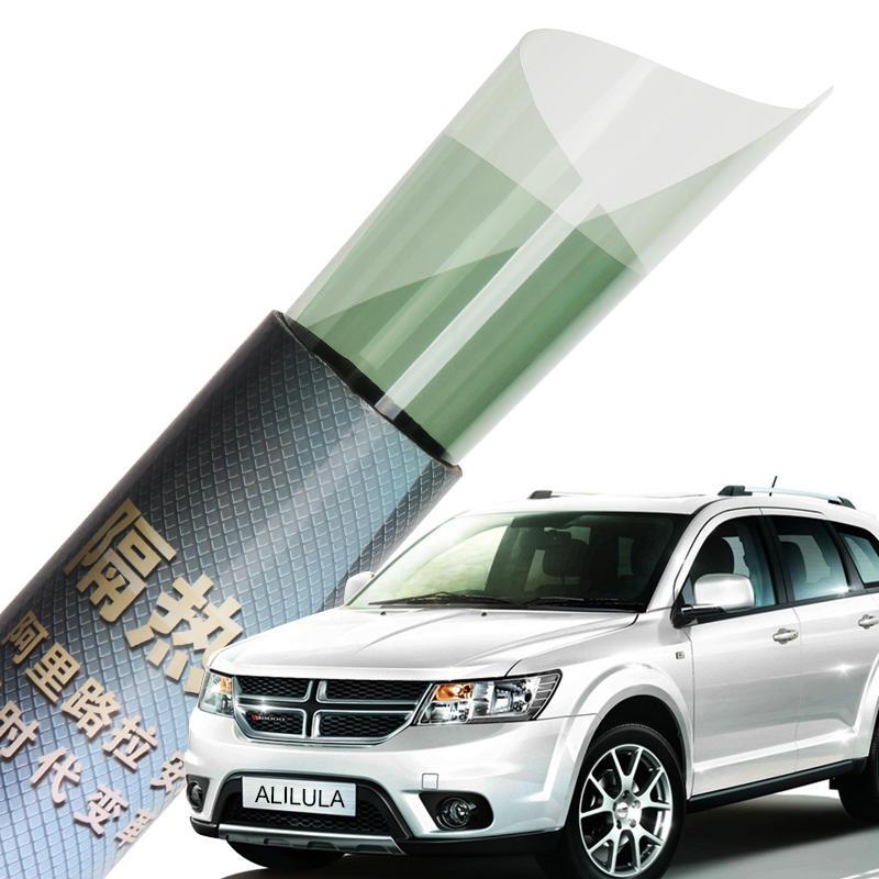 PET material black color size 76cm*1.5m per roll Anti UV car window tint film