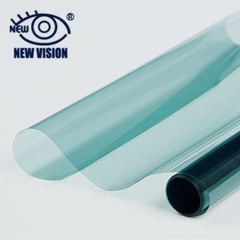 High quality 50cm*30m PET material self adhesive anti scratch car solar window dyed film