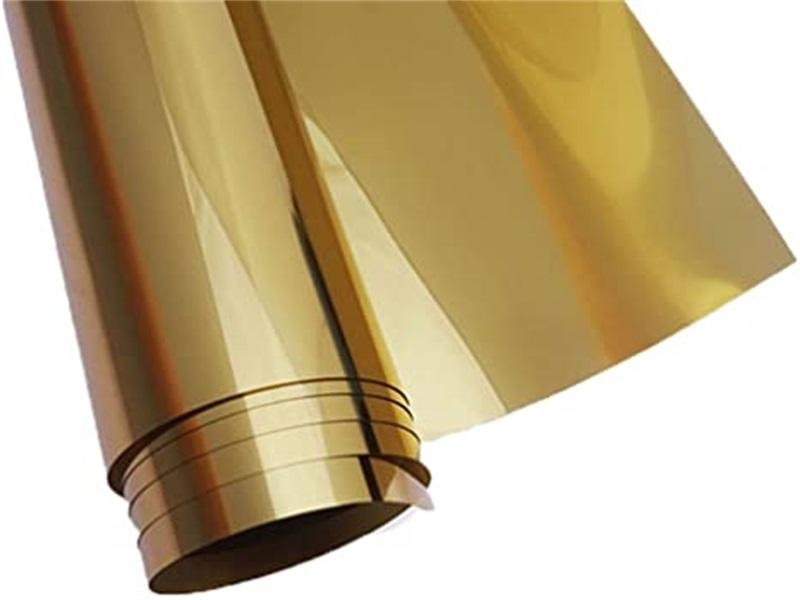 Heat rejection silver series building outside glass wall protect reflective metallic tint film