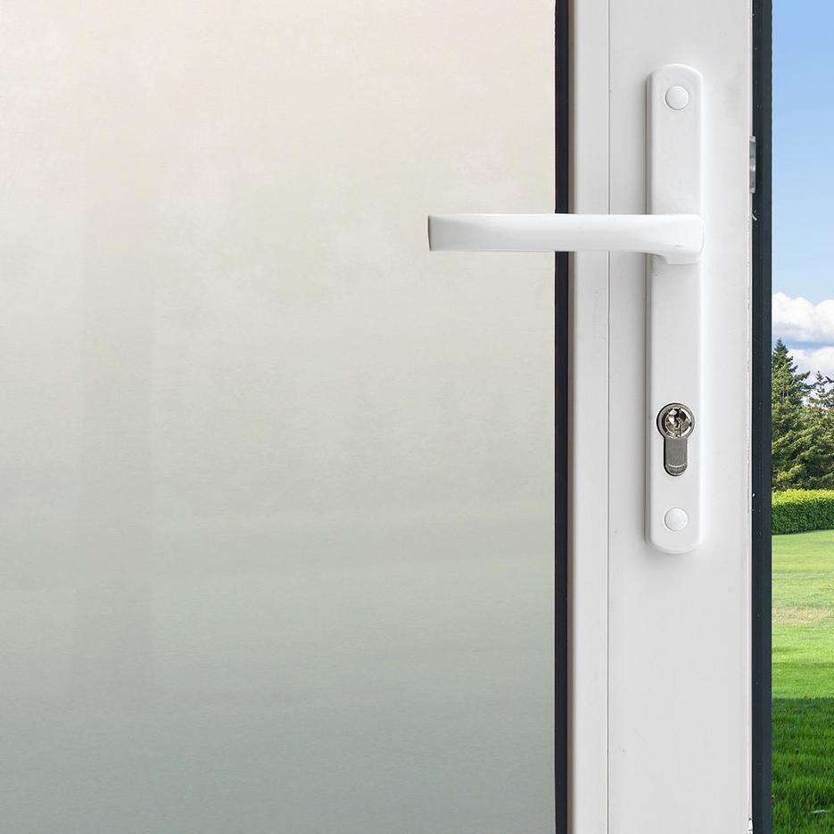No glue static cling decorative privacy building glass film