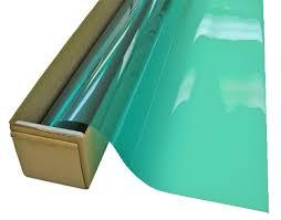 1.52*30m Ultra Vision Window Tint green&silver color VLT 15% protect privacy building window film