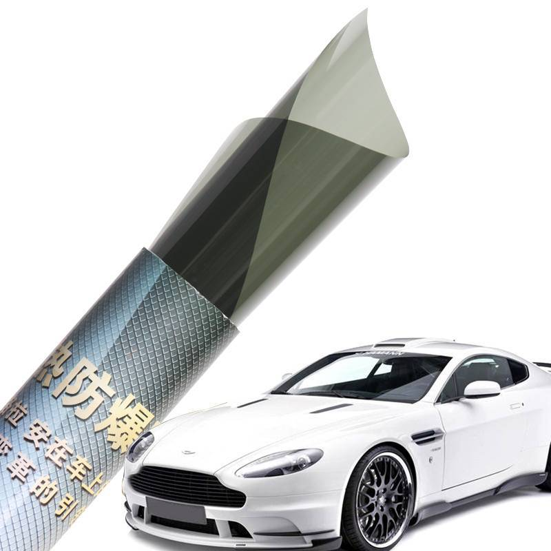 DIY Black Green Blue Charcoal color 1 Ply&2 Ply Solar Window Tinted Car FIlm
